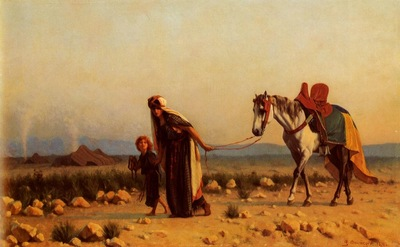 Gustave Clarence Rodolphe Boulanger The Return