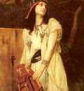Gustave Clarence Rodolphe Boulanger A Woman With An Urn