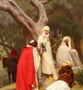 Gustave Clarence Rodolphe Boulanger Reception Of An Emir
