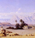 Gustave Guillaumet The Oasis