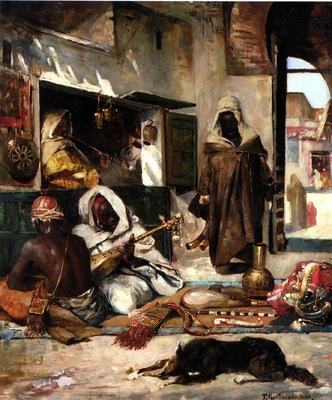 Gyula Tornai An Arms Merchant In Tangiers