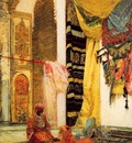 Henri Regnault Patio In Tangiers