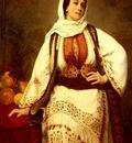 Henriette Browne Portrait Of A Woman