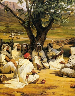 Horace Vernet Arab Chieftains In Council