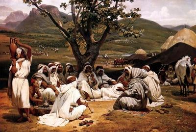 Horace Vernet The Arab Tale Teller
