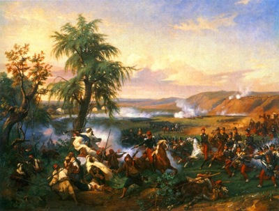Horace Vernet The Battle Of Harba
