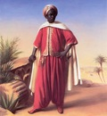 Horace Vernet Portrait Of An Arab
