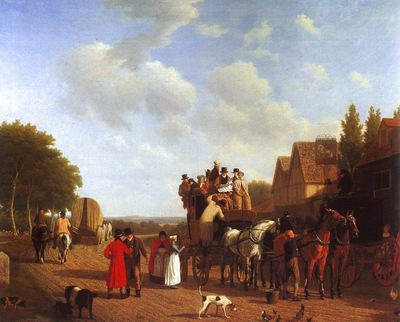 Jacques Laurent Agasse A Street
