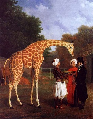 Jacques Laurent Agasse Giraffe