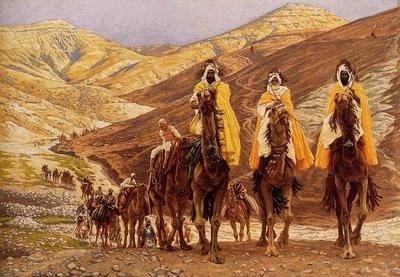 James Jacques Joseph Tissot Journey Of The Magi