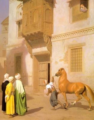 Jean Leon Gerome Cairene Horse Dealer