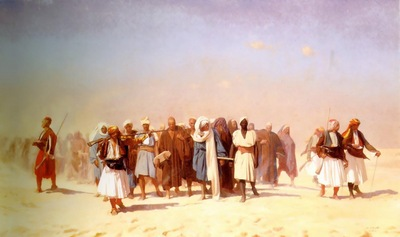 Jean Leon Gerome Egyptian Recruits Crossing The Desert