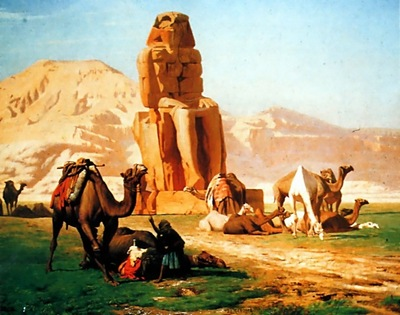 Jean Leon Gerome Memnon And Sesostris