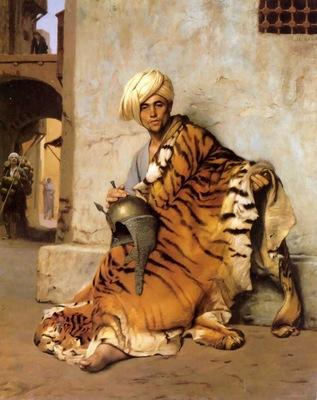 Jean Leon Gerome Pelt Merchant Of Cairo