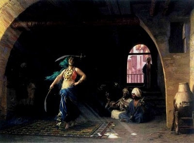 Jean Leon Gerome Sabre Dance In A Cafe