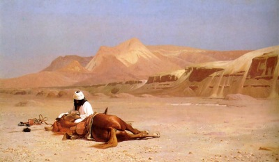 Jean Leon Gerome The Arab And His Steed