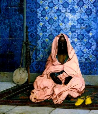 Jean Leon Gerome The Black Poet