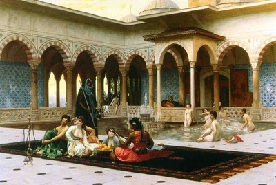 Jean Leon Gerome The Harem On The Terrace