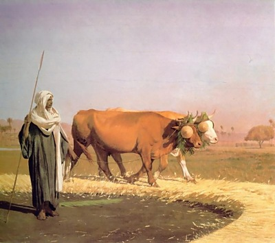 Jean Leon Gerome Treading Out The Grain In Egypt