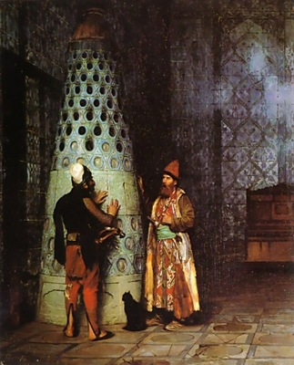 Jean Leon Gerome Waiting For An Audience