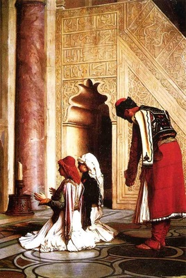 Jean Leon Gerome Young Greeks At The Mosque