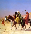 Jean Leon Gerome Arabs Crossing The Desert