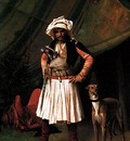 Jean Leon Gerome Bashi Bazouk And His Dog
