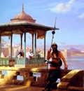 Jean Leon Gerome Harem In The Kiosk