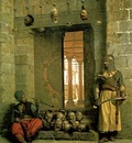 Jean Leon Gerome Heads Of The Rebel Beys aAt The Mosque Of El Hasanein