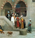 Jean Leon Gerome Leaving The Mosque