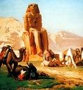 Jean Leon Gerome Memnon And Sesostris
