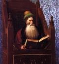 Jean Leon Gerome Mufti Reading In His Prayer Stool
