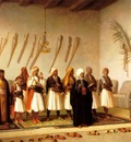 Jean Leon Gerome Prayer In The House Of An Arnaut Chief