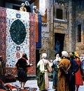 Jean Leon Gerome The Carpet Merchant