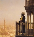 Jean Leon Gerome The Muezzin