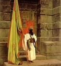 Jean Leon Gerome The Standard Bearer