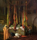 Jean Leon Gerome The Tomb Of Imam Hussain