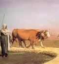 Jean Leon Gerome Treading Out The Grain In Egypt