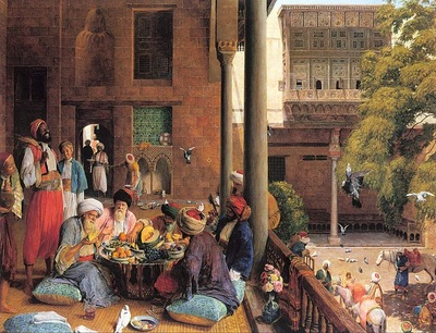 John Frederick Lewis The Midday Meal Cairo