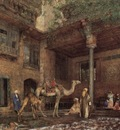 John Frederick Lewis A House In Cairo