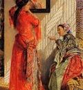 John Frederick Lewis Indoor Gossip Cairo