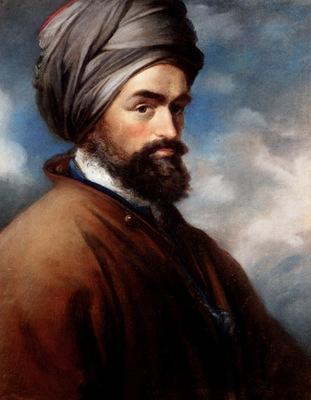 John Russell Portrait Of A Turk