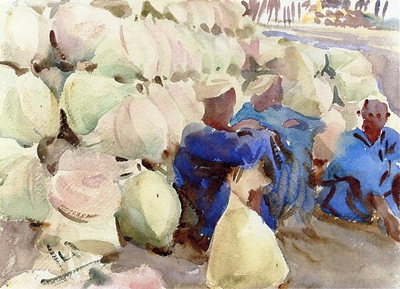 John Singer Sargent Egyptian Water Jars