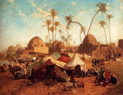 Karl Wilhelm Gentz Bedouincamp