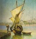 Leonardo De Mango A Boat