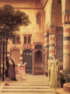 Lord Frederick Leighton Old Damascus Jews Quarter