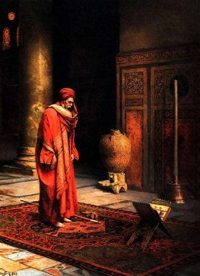 Ludwig Deutsch At Prayer