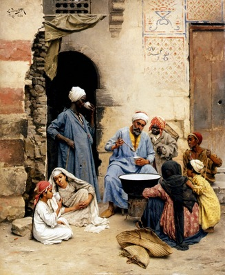Ludwig Deutsch The Sahleb Vendor