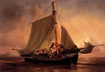 Niels Simonsen Arab Pirate Attack