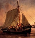 Niels Simonsen Arab Pirate Attack